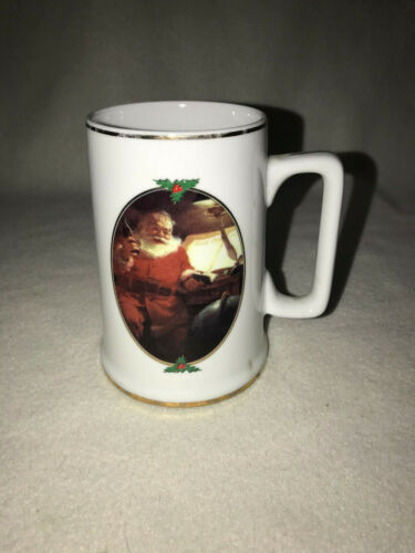 COCA COLA GOOD BOYS AND GIRLS 1996 SANTA COLLECTORS EDITION MUG CHRISTMAS