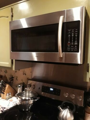 ge over the range microwave stainless