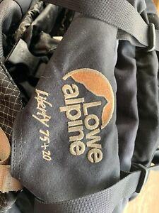Free Lowe Alpine backpack 75 20