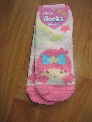 Sanrio Little Twin Stars micro fleece socks