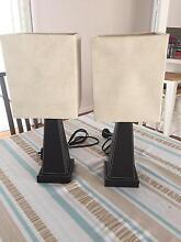 Set of bedside lamps Engadine Sutherland Area Preview