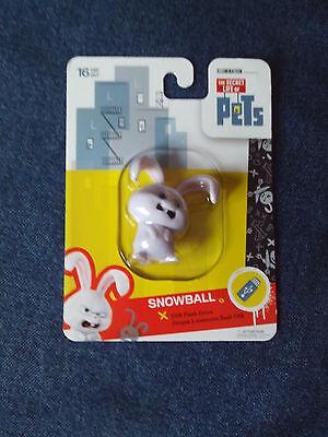 The Secret Life Of Pets 16GB USB Flash Drive - SNOWBALL - Shaped *New*