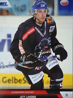 138 Jeff Likens Augsburger Panther DEL 2008-09