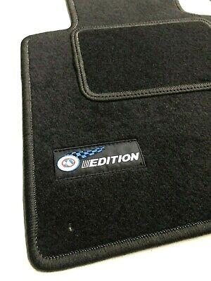 2 Klett Teppich BMW X4 F26 Fußmatte Original Qualität Velours Automatte FAHRER
