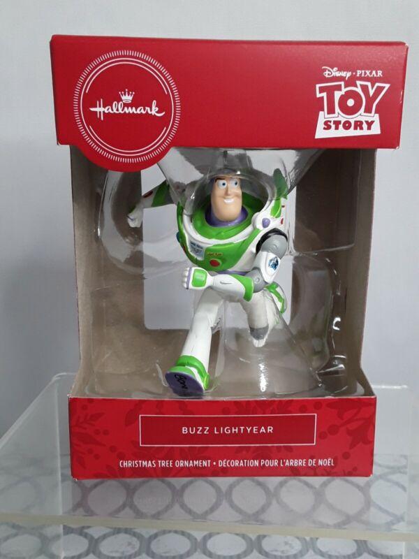 Toy Story Buzz Lightyear Hallmark Red Box Christmas Tree Ornament 2019 New