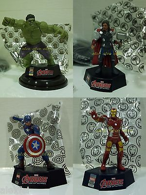 Avengers Age of Ultron Theater EXC.FIGURE TOPPER Hulk,Thor,Captain America,IRON