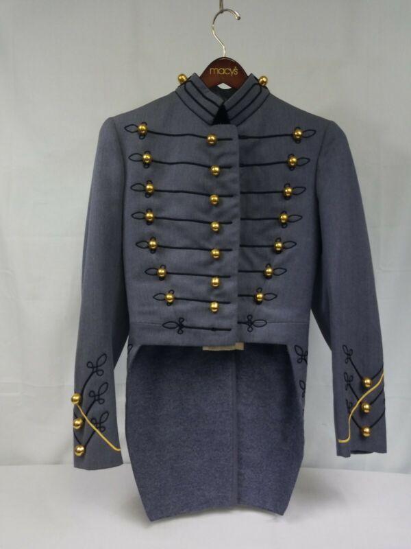 West Point USMA Vintage Cadet Dress Grey  Uniform Coat Jacket 1966 Named Pants