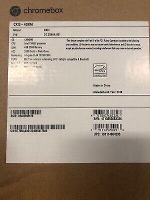 ACER AMERICA - DESKTOPS DT.Z0NAA.001 CXI3-4GKM MINI DT CELERON 3865U