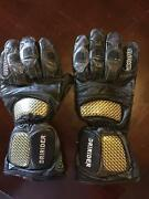 Motorcycle gloves leather North Perth Vincent Area Preview