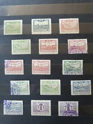 Poland Local Stamps Collection 1918