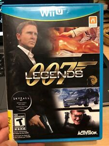 James Bond 007 legends wii u game