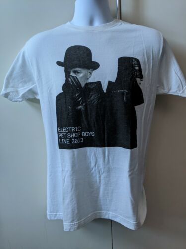 Pet Shop Boys Electric Live 2013 T-Shirt - Med - New/Unworn