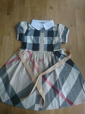 Burberry Dress Girls Size 3/4 y