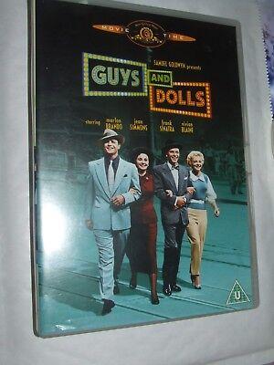 GUYS and DOLLS Frank Sinatra Marlon Brando DVD  ()