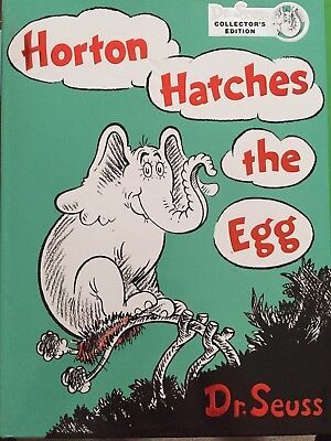 Horton Hatches The Egg By Dr. Seuss Hardcover
