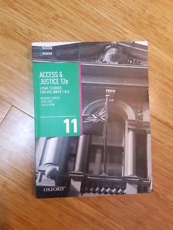 Access & Justice VCE Legal Studies Units 1 & 2