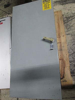 American Midwest Power Enclosed Disconnect Switch W-vfdbp 2 Disconnects Used