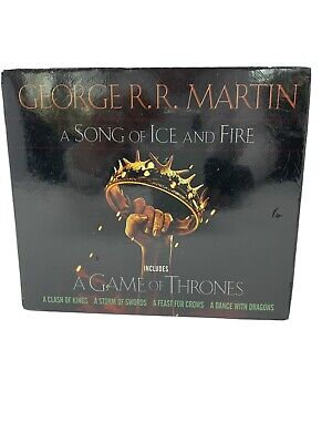 A Song of Ice and Fire/Game of Thrones George R. R. Martin HBO Set #1-5 Sealed
