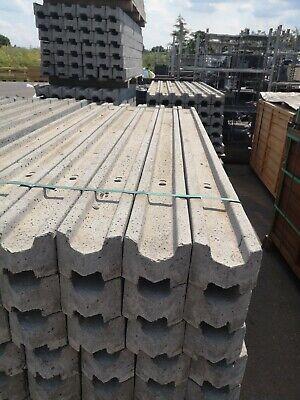 10 x Litecast Concrete H Post 6' long intermediate post best on the market
