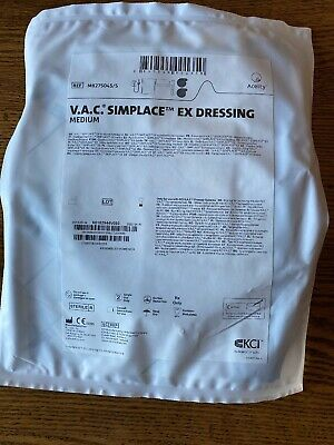 V.a.c. Simplace Ex Dressing Medium For Kci Wound Vac M82750455 Lot Of 3