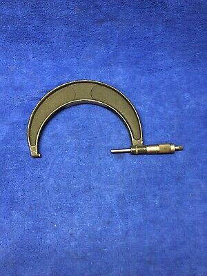 Vintage Brown Sharpe No. 69 Rs Micrometer Caliper Machinist Tool 5-6