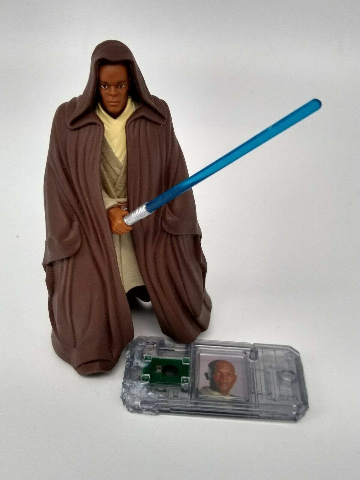 Star Wars Episode 1 Mace Windu Complete with Commtech Chip
