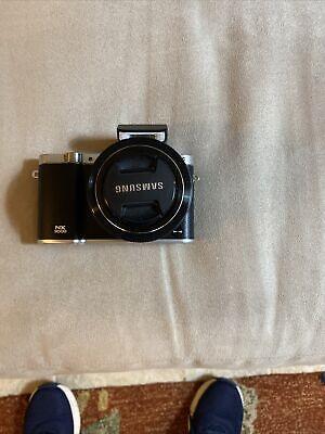 Samsung NX NX3000 20.3MP Digital SLR Camera - Black (Kit w/ 20-50mm Lens)