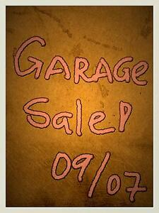 Garage Sale 09/07 Redcliffe Redcliffe Area Preview