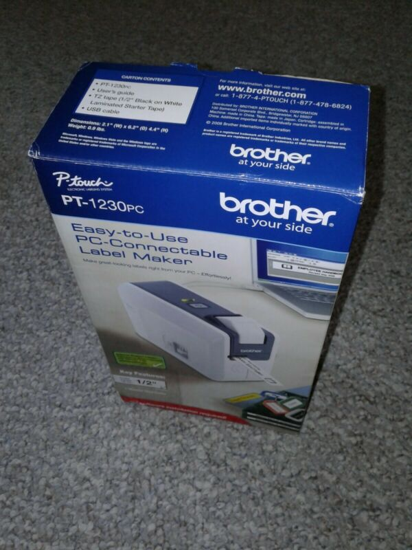 Brother PT-1230PC Label Thermal Printer