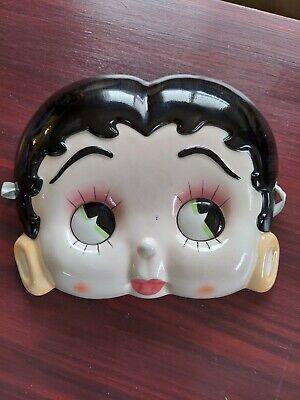 Betty Boop 3D Ceramic Porcelain Wall Hanging Mask Pelzman Designs 1985 Vandor