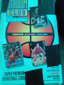 Topps Stadium Club 1993-94 series 1 & 2 mint condition Kingston South Canberra Preview