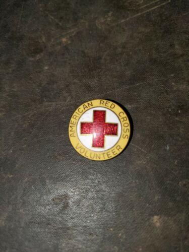 Vintage American Red Cross Volunteer Pin #1
