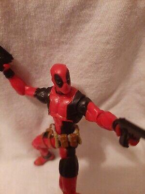 Marvel Universe 3.75 figure Deadpool Wolverine Origins loose Dual Pistolas
