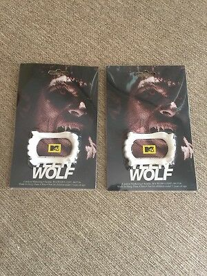 Two Pieces Teen Wolf Fangs New](Teen Wolf Mask)