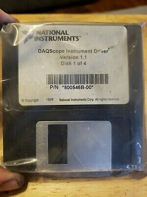 4a3 National Instruments Daqscope Instrument Driver Software 500546b-00