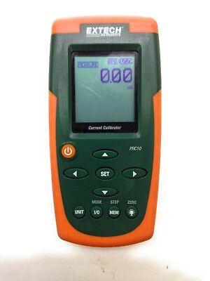 Extech Prc-10 Process Calibratormeter 0-24 Ma W Tilt Standhanger Test Leads
