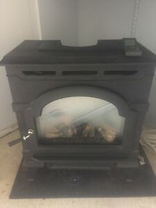 Oxford 28,000 BTU direct vent gas fireplace.