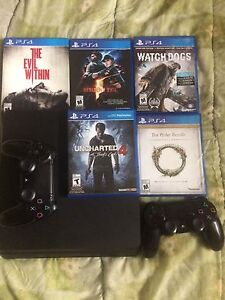 Ps4 Slim barely used.