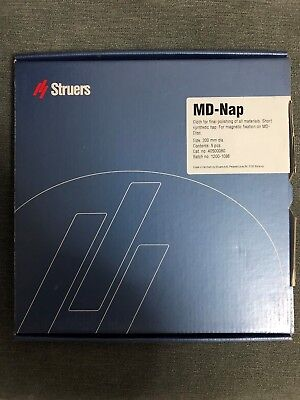 Struers Md-nap 200 Mm Cloth For Polishing All Materials - 5 Pcs Box