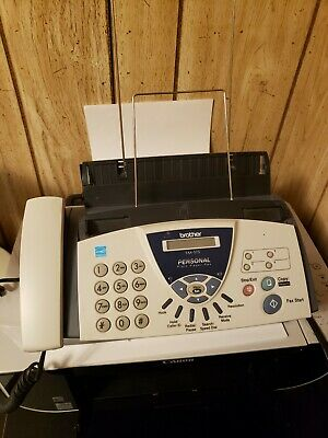 Brother Fax-575 Personal Plain Paper Fax Phone And Copier With Manual
