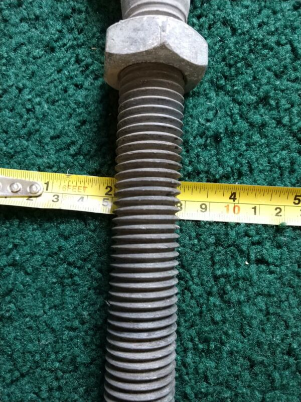 "Galvanized Jaw & Eye Turnbuckle1""x12"" Korea"