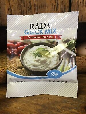 Cucumber Onion Dill Dip 1 Ounce Dry RADA - Cucumber Dill