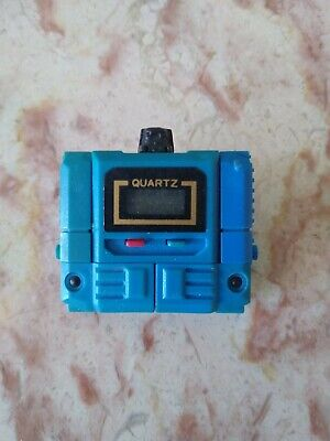 1980's Unbranded TAKARA-LIKE KRONOFORM TRANSFORMERS Blue QUARTZ WATCH