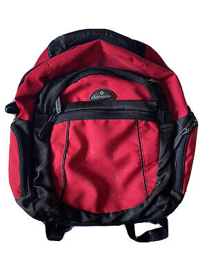 SAMSONITE BACKPACK. Red. Excellent Condition. Just Had Cleaned. Padded.