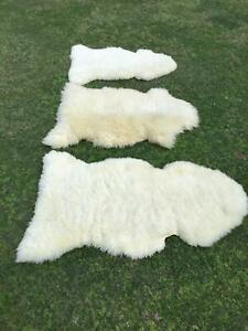genuine wool sheepskin rugs