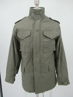 L4807 VTG Alpha Industries M-65 Cold Weather Military Field Jacket Size XS