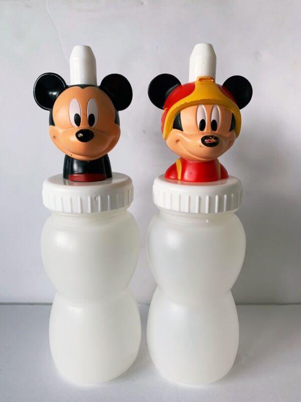 Mickey Mouse Condiment Bottles Vintage Disney