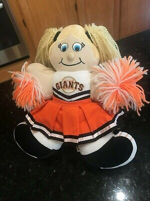MLB San Francisco Giants Cheerleader plush bean bag stuffed animal RARE San Francisco Giants Bean Bag