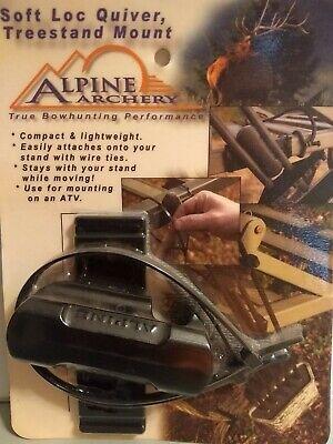 Alpine Archery Soft Loc Quiver, Compact Treestand Mount Alpine Archery Alpine Quiver
