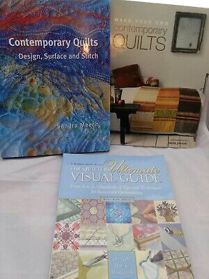 - CONTEMPORARY QUILTS MAKE YOUR OWN DESIGN QUILTERS ULTIMATE VISUAL GUIDE BOOKS